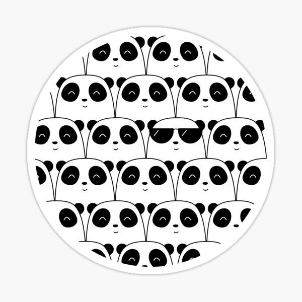 That Cool Panda Sticker