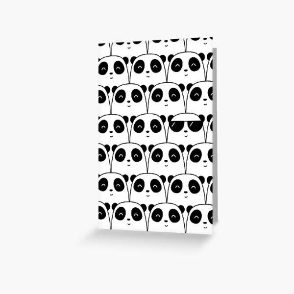 That Cool Panda Greeting Card