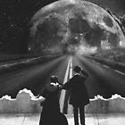 Road to the moon by GayaHovakimyan