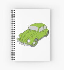 VW Beetle Spiral Notebook