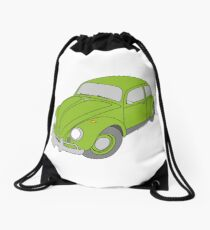 VW Beetle Drawstring Bag