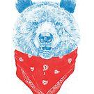 Wild bear (color version) by soltib