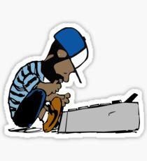DJ Dilla Sticker