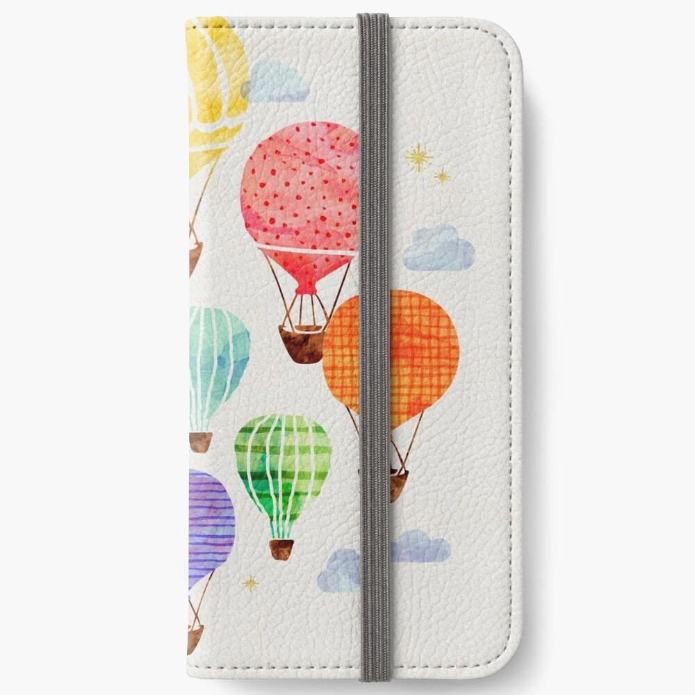 Hot Air Balloon iPhone Wallet