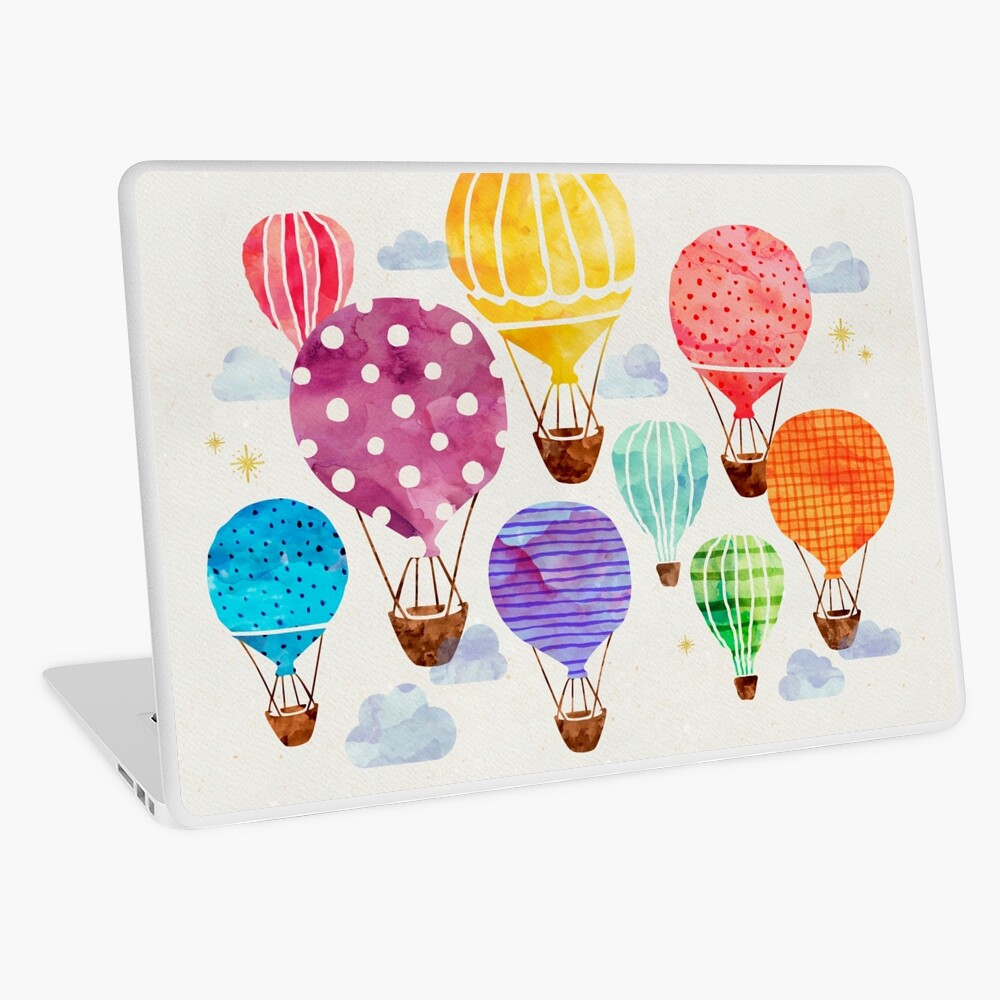Hot Air Balloon Laptop Skin