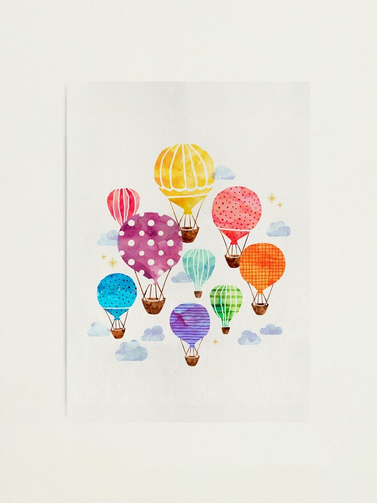 Alternate view of Hot Air Balloon Photographic Print
