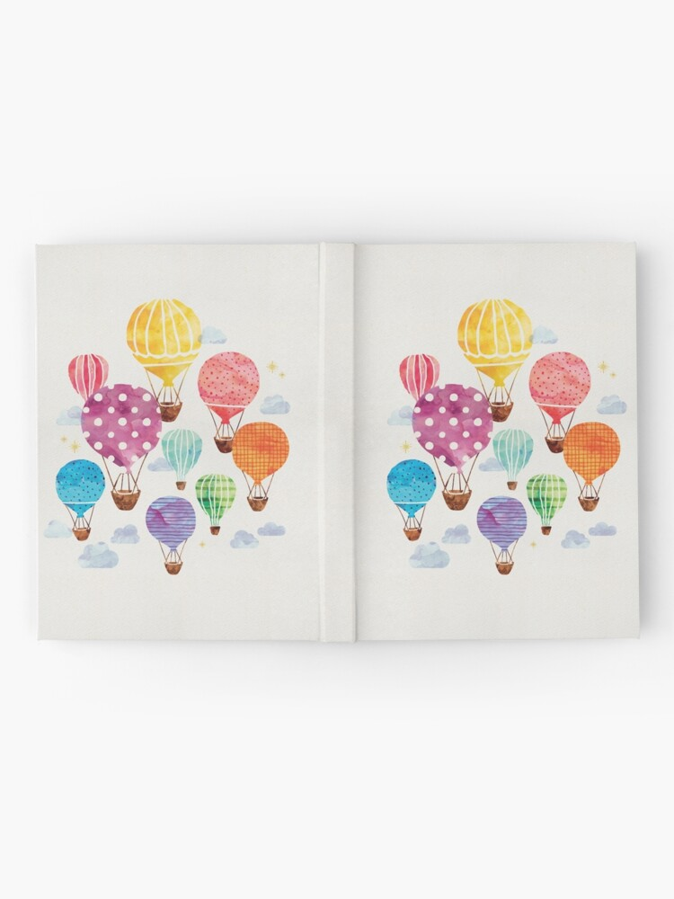 Alternate view of Hot Air Balloon Hardcover Journal