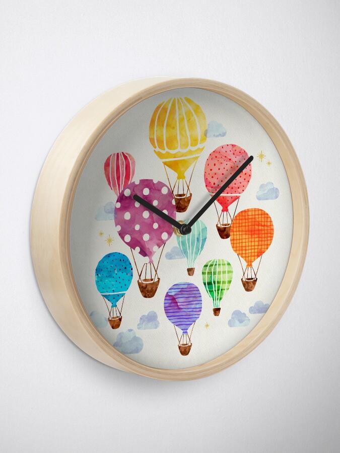 Alternate view of Hot Air Balloon Clock