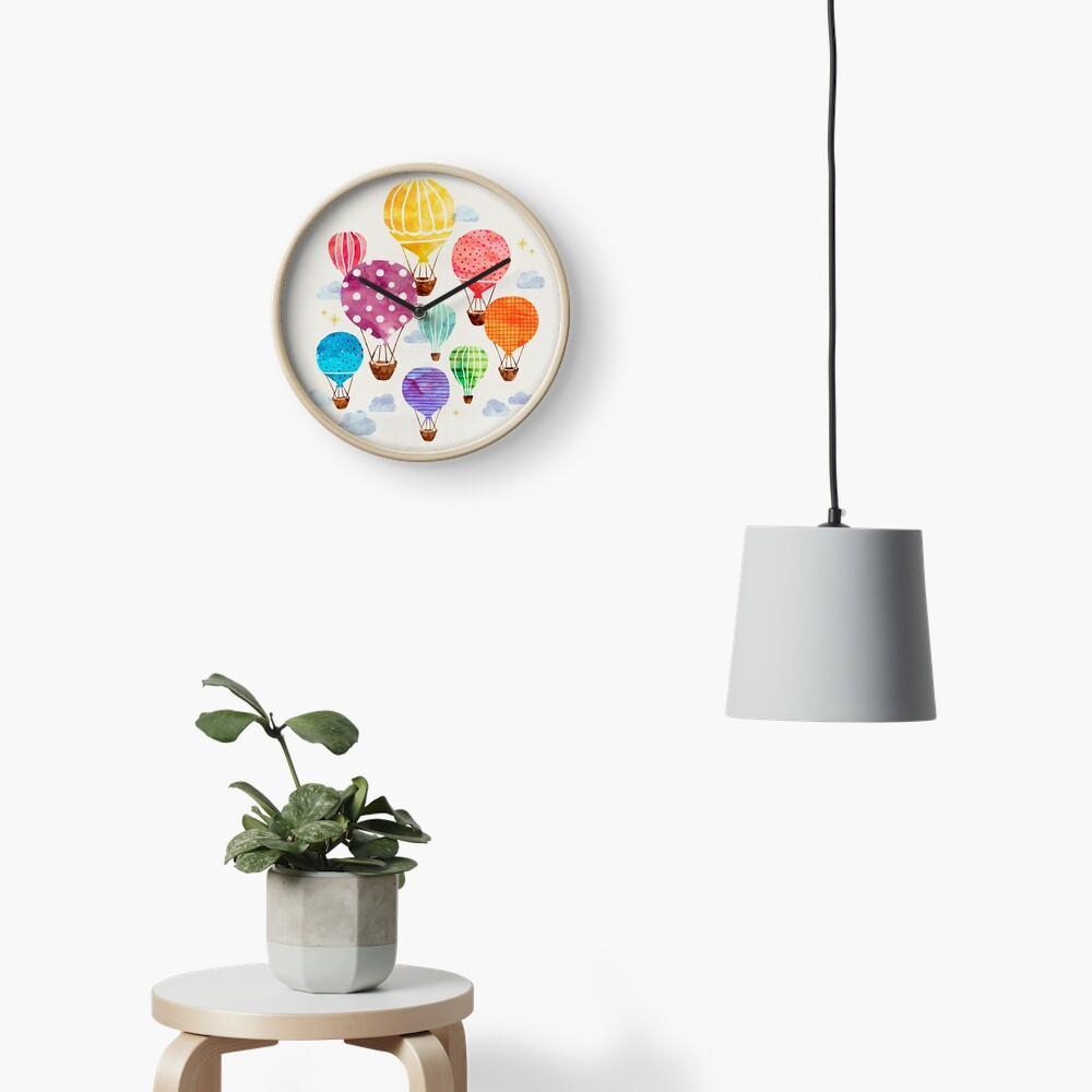 Globo aerostático Reloj