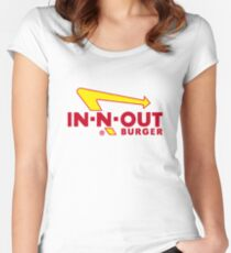 In n Out Burger Women's Fitted Scoop T-Shirt