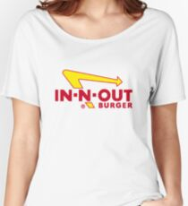 In n Out Burger Women's Relaxed Fit T-Shirt