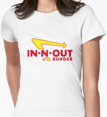 In n Out Burger Women's Fitted T-Shirt