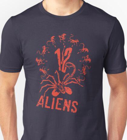 12 Aliens T-Shirt