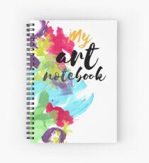Art notebook Spiral Notebook