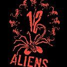 12 Aliens by victorsbeard