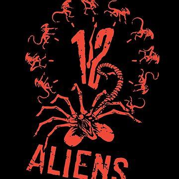 12 Außerirdische von victorsbeard