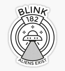 Aliens Exist Sticker