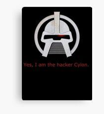 Haxor Cylon Canvas Print