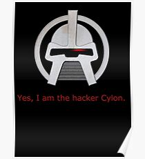 Haxor Cylon Poster