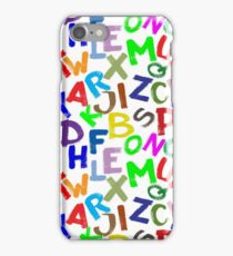 ABC -  Colourful letters iPhone Case/Skin