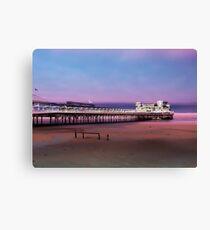 Grand pier, Weston Super Mare Canvas Print