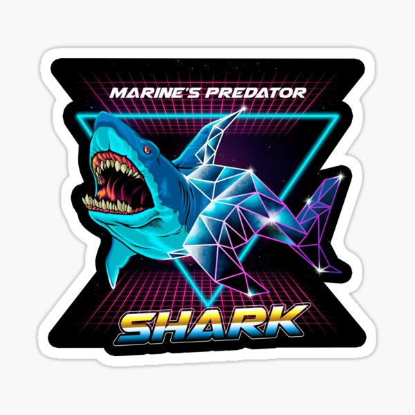Shark - marine's predator Sticker