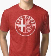 Alfa Romeo (white) Tri-blend T-Shirt