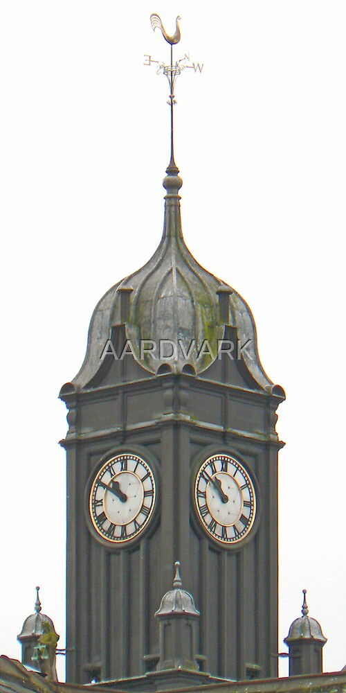 The Clock Tower Atop York's Magistrate's Court by AARDVARK
