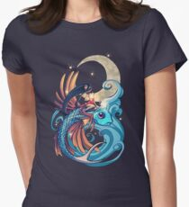 Festival of the Flying Fish Womens Fitted T-Shirt