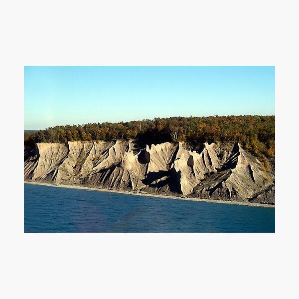 Chimney Bluffs Photographic Print