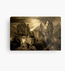 Aggstein Castle, Austria 1844 Metal Print