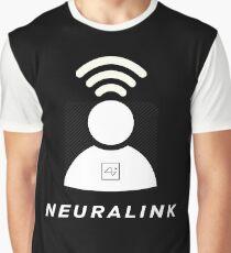 Neuralink - Elon Musk Graphic T-Shirt