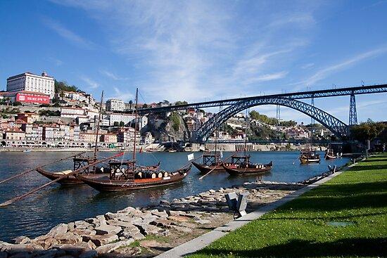 Portugal - Historic Center of Oporto Portugal by renprovo