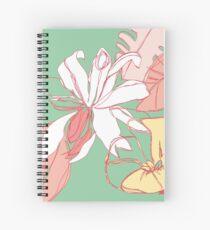 Flora III Spiral Notebook