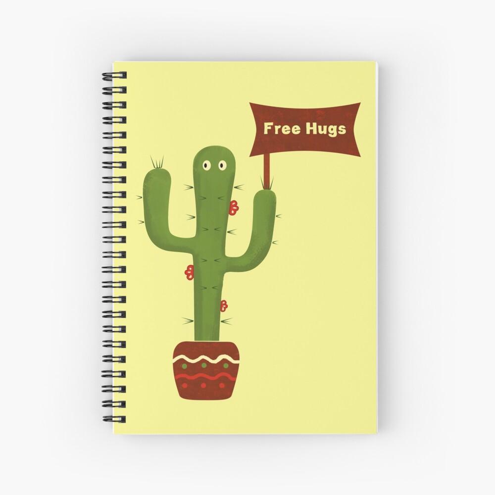 Free Hugs! Spiral Notebook