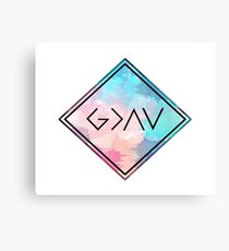God Is Greater Than the Highs and Lows Canvas Print