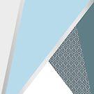 Blue Geometry by babibell