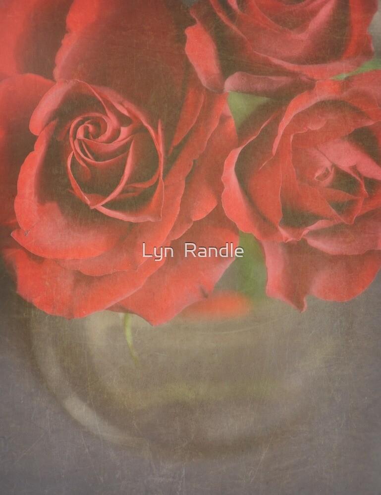 Scarlet Roses. by Lyn  Randle