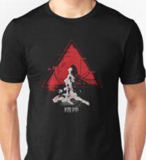 Camiseta unisex Fantasma en la concha