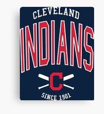 Cleveland Indians Baseball  Canvas Print