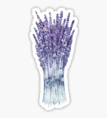 Watercolor lavender bouquet Sticker