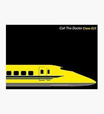 Dr Yellow 923 Shinkansen Photographic Print