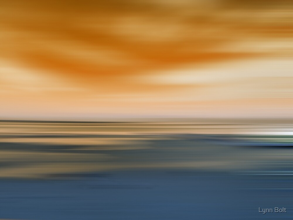 Sand Sea and Sky by Lynn Bolt