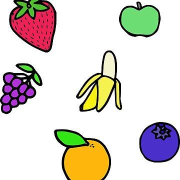 Fruit Salad by ColorfulKai