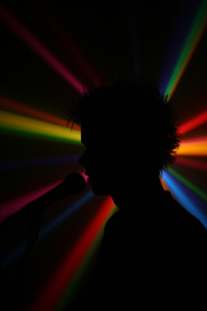 Tristan's Technicolour Silhouette by Richard Edwards
