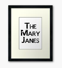 The Mary Janes Framed Print