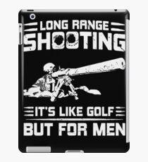 Long Range Shooting iPad Case/Skin