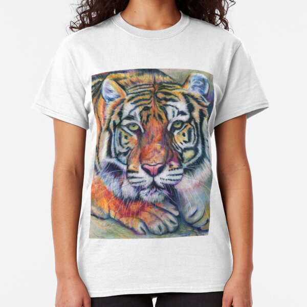 Colorful Tiger Classic T-Shirt