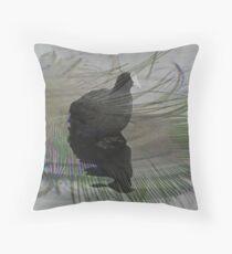 Moorhen Throw Pillow