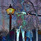 Late Walk In The Park by Peter Fenna